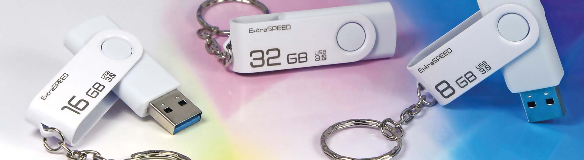 USB-Stick Extra Speed 32GB highspeed 3.0 logo