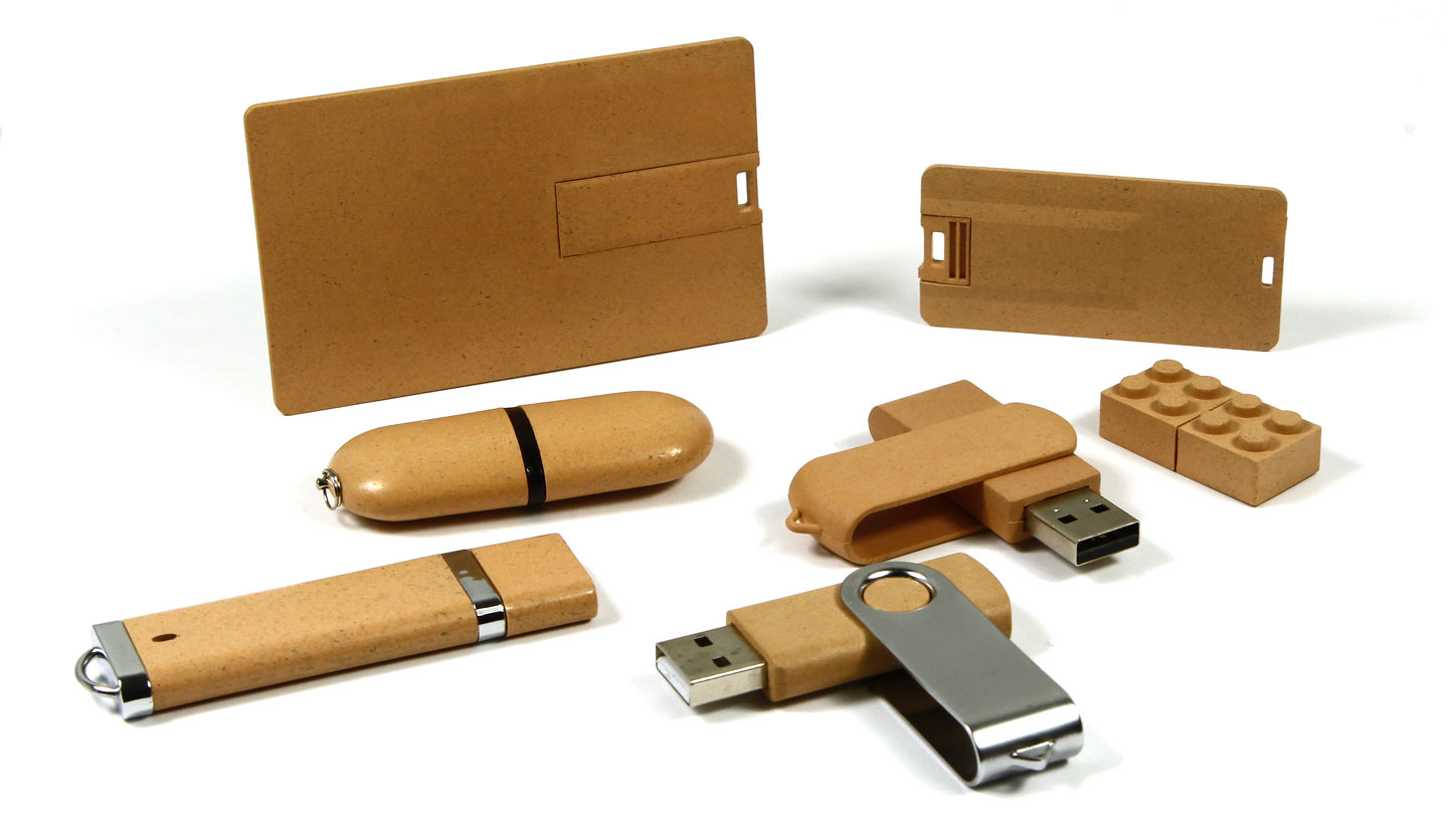 PLA Kunststoff USB-Sticks