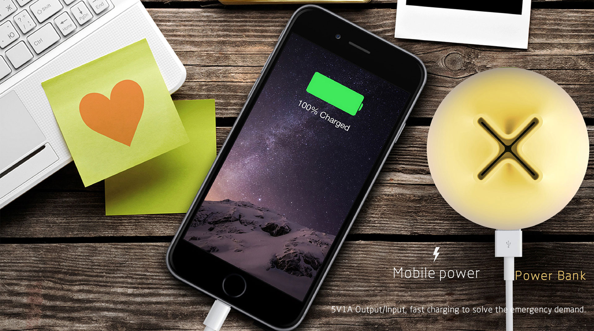 tumbler powerbank charging