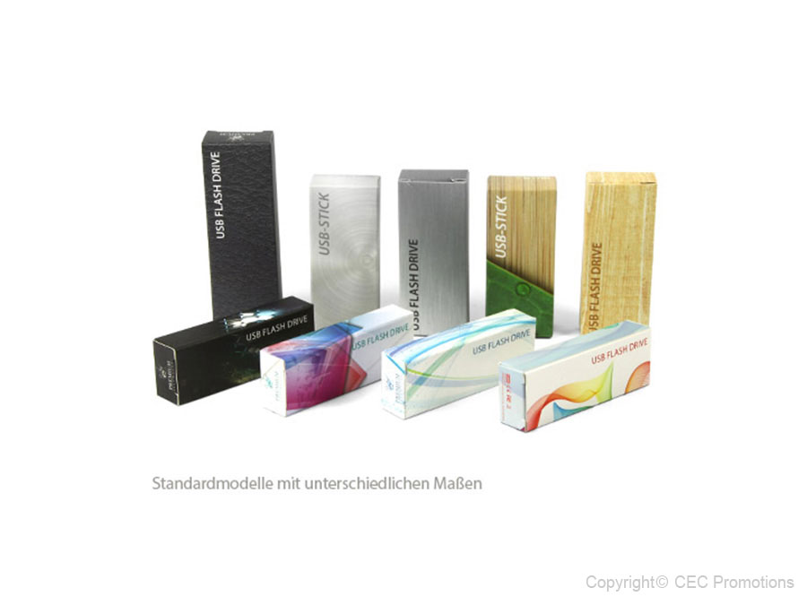 USB-Stick Design Faltschachtel