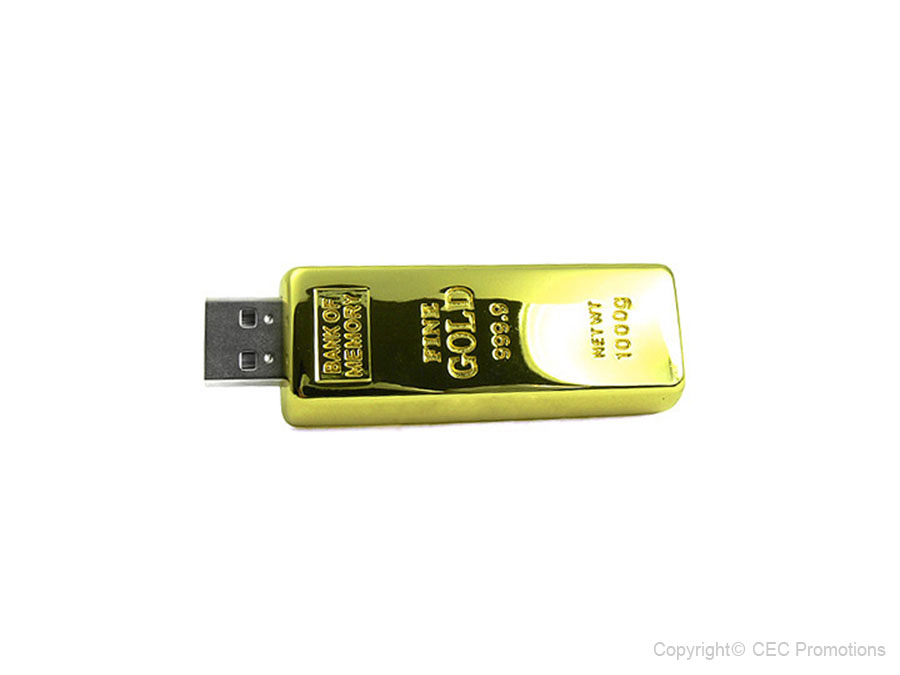 USB-Stick Goldbarren