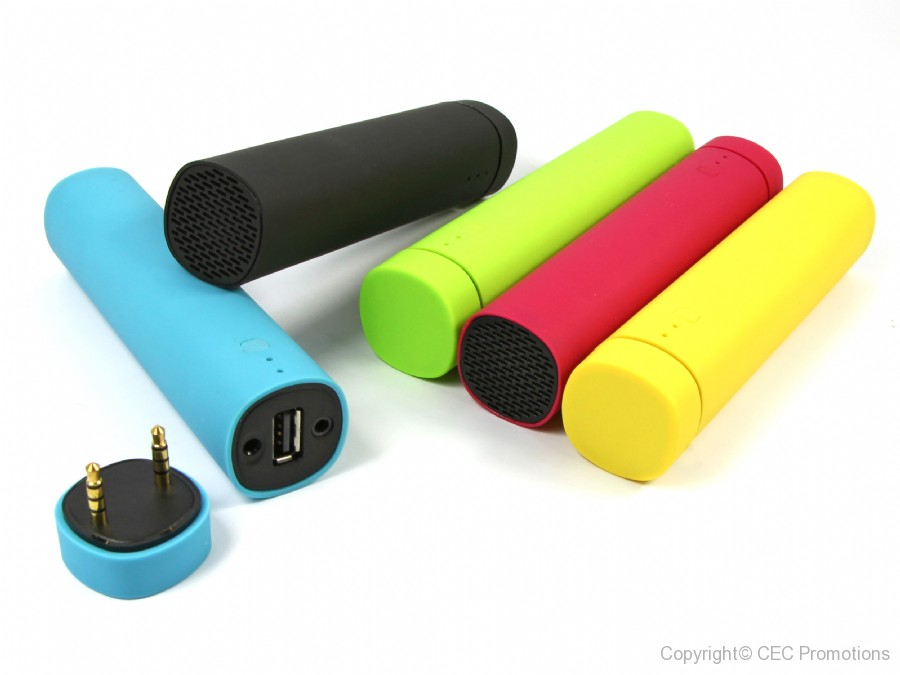 Speaker & Powerbank 4in1