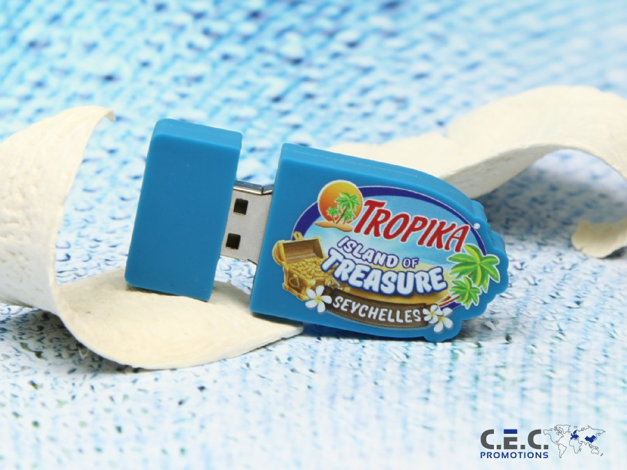 USB-Stick Sonderform Digitaldruck