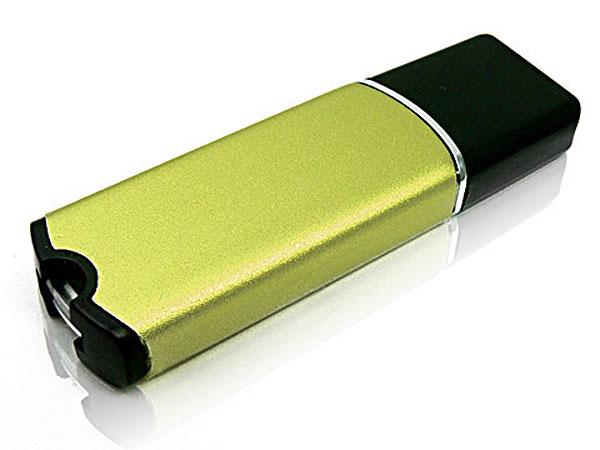 Schicker Kunststoff USB-Stick, schimmernd