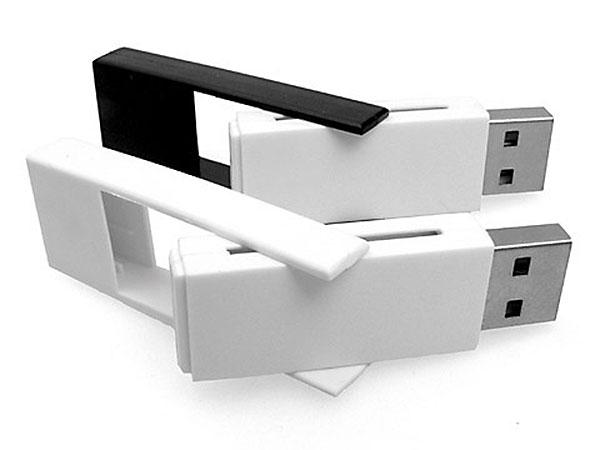 Aufdrehbarer Kunststoff USB-Stick