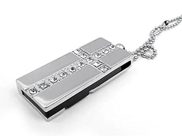 Mini.27 Mini USB-Stick mit Schmucksteinen, verschiedene