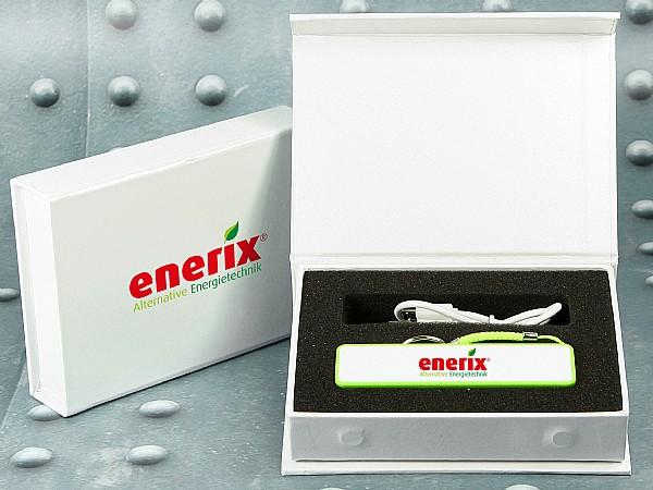 ♦ Hochwertige Geschenkverpackung ♦ mit Magnetverschluss für POWERBANKS