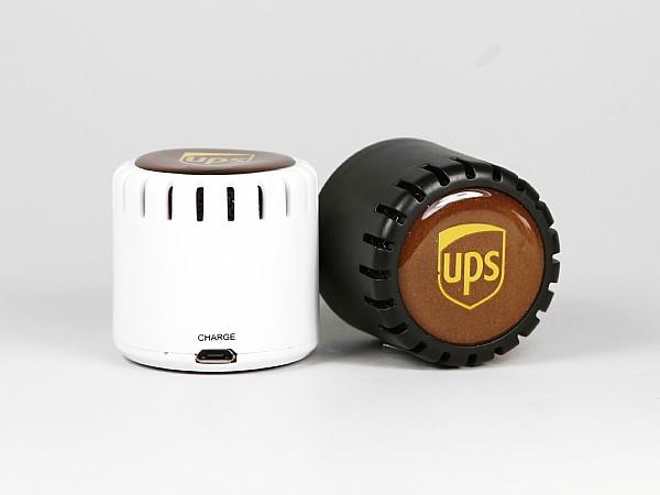 Bluetooth Speaker mit Doming als Werbegeschenk