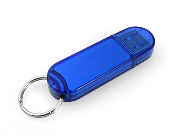 Transparenter USB-Stick aus Kunststoff