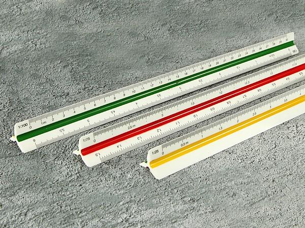 Kunststoff Lineal 30 cm bedruckbar mit Logo