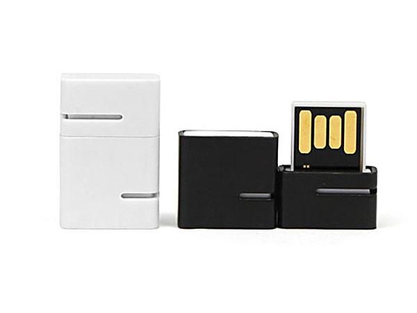 Mini USB-Stick aus Metall, geniale Technik