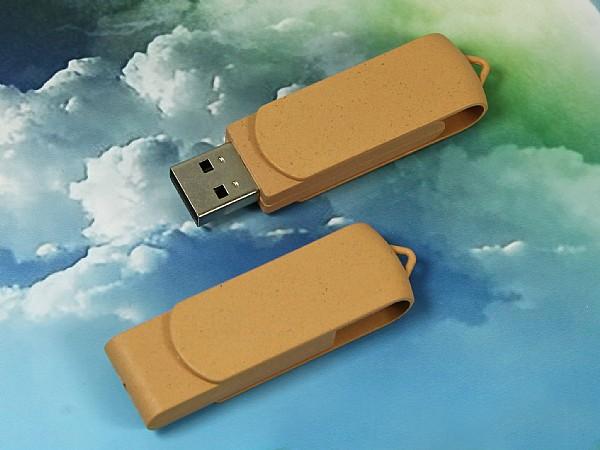 Komplett aus Biokunststoff Twister Classic USB-Stick