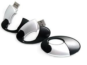 Kunststoff USB-Stick zum Aufklappen