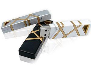 Edel designter Kunststoff USB-Stick