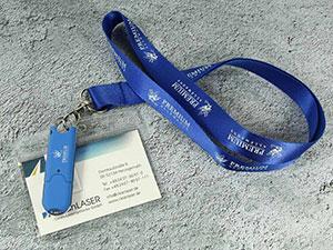 Ausweis-Set mit USB-Stick und Lanyard