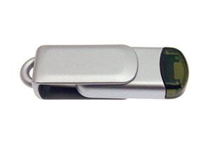 Drehbarer USB-Stick der günstigen Barato-Serie aus Kunststoff