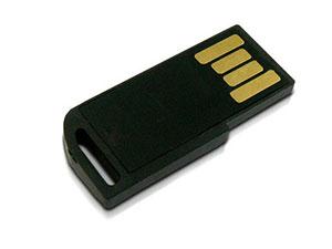 Kleiner Mini USB Stick mit größer Öse
