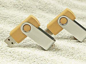 Biokunststoff Metall 01 USB-Stick