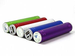 Powerbank Taschenlampe, Akku mit Taschenlampe, handlich und immer griffbereit
