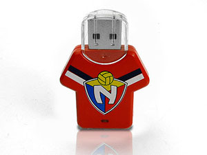 Fun USB-Stick in Trikotform, Kunststoff