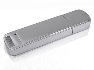 Schlichter hochglanz Metall USB-Stick