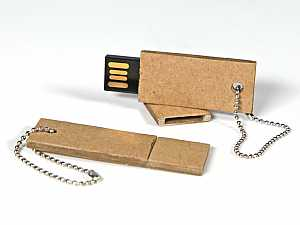 USB-Stick Wellpappe Mini