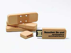 Pflaster USB Stick in individueller Form