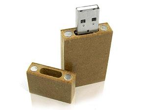 Holz USB-Stick aus Pressspan