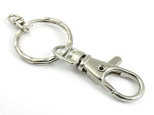 Schlüsselanhänger mit Karabinderhaken