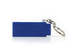 Zollstock Schlüsselanhänger mit Logo