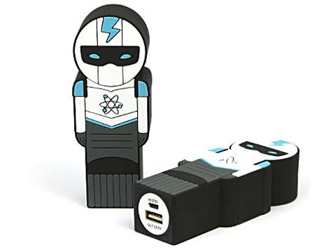 Creative Powerbank Figur, Invidueller Powerbank, Mensch, Männchen als Mobiler Akku