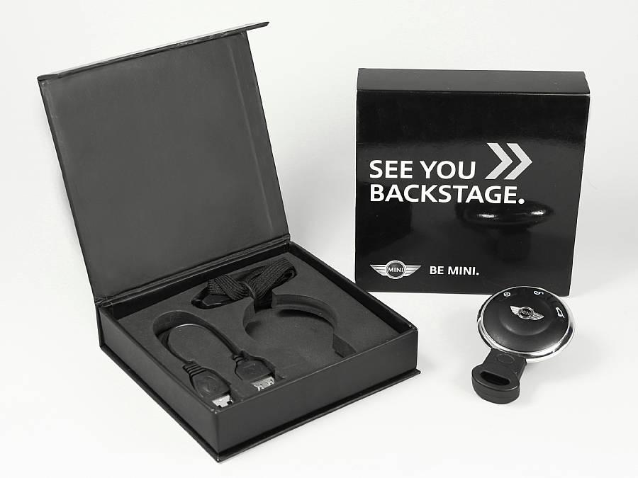 bmw mini verpackung schwarz glanz
