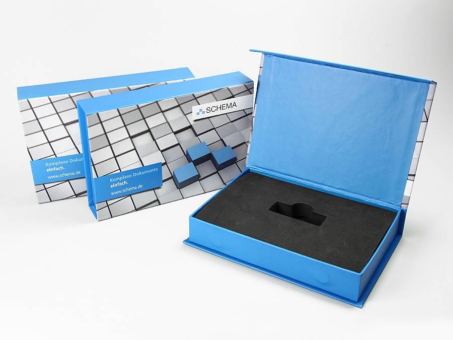 dongle box bedruckt individuell gestaltet