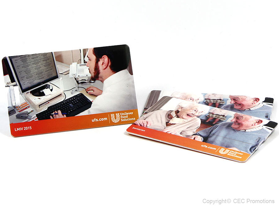 Unilever usb card food print senioren digital