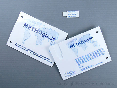 USBarchive Plastic Card Metho 02, USB plastic Card