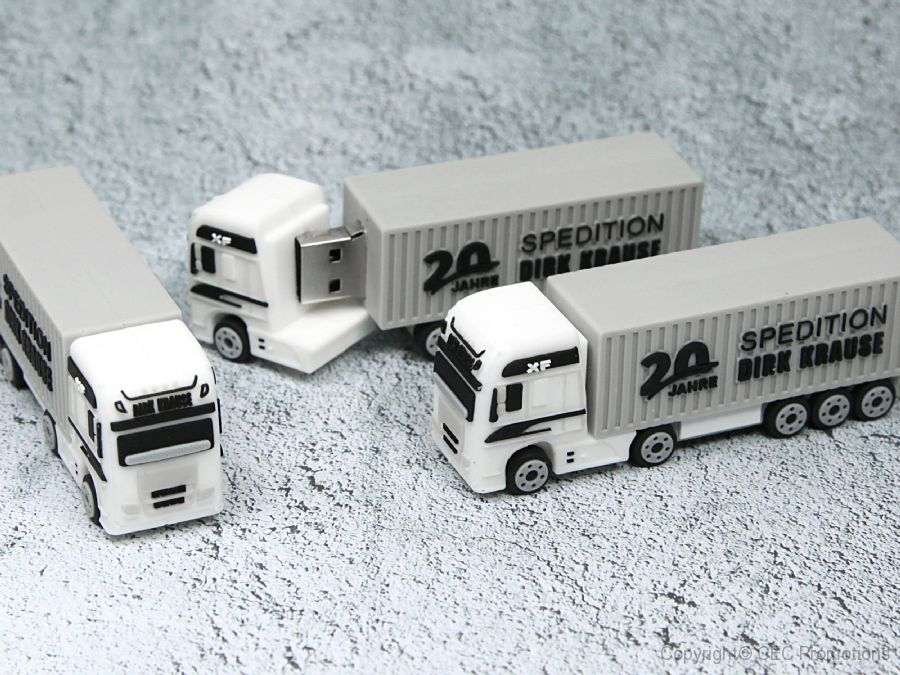 usb stick spedition dirk krause lkw container logo