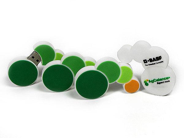 usb-stick-logo-freiform-100.html, Company, Firmenlogo, individuell, CustomLogo, PVC