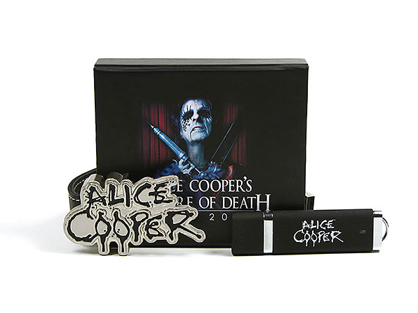 Alice Cooper packaging verpackung usb-stick, K01 Magnetklappbox, famous,