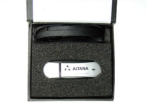 Alu-USB-Stick Logo-Aufdruck Werbegeschenk, Alu.03