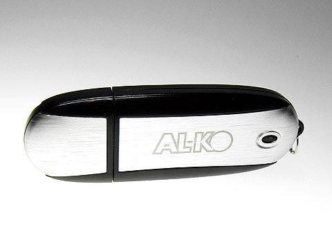 Alu-USB-Stick Logo-Gravur Werbemittel, Alu.03