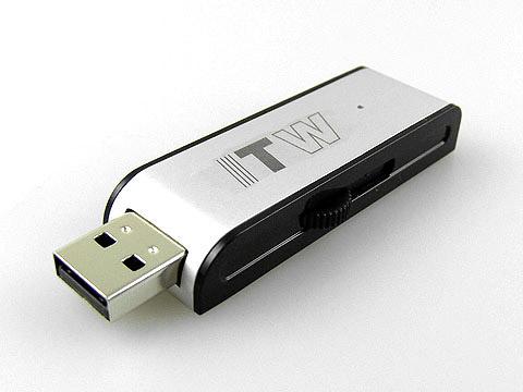 Alu-USB-Stick gross schwarz-silber Logo, slider, Alu.10