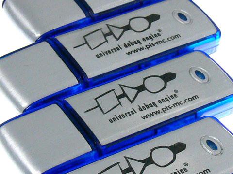 USB Stick aus Alu mit Gravur