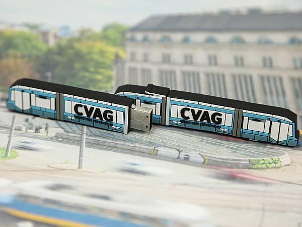 CVAG Strassenbahn Chemnitz USB Stick