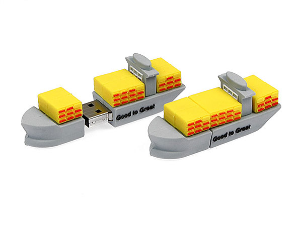 Creative USB-Stick Containerschiff DHL Frachter Container Logistik