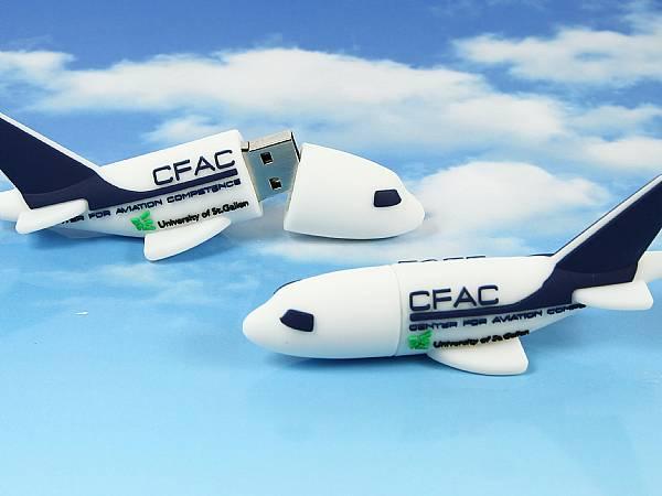 Creative USB Stick Flugzeug Airplane logo custom Fluggesellschaft flieger