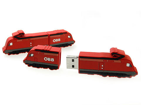 Custom-individueller USB-Stick Zug, Custom USB-Sticks