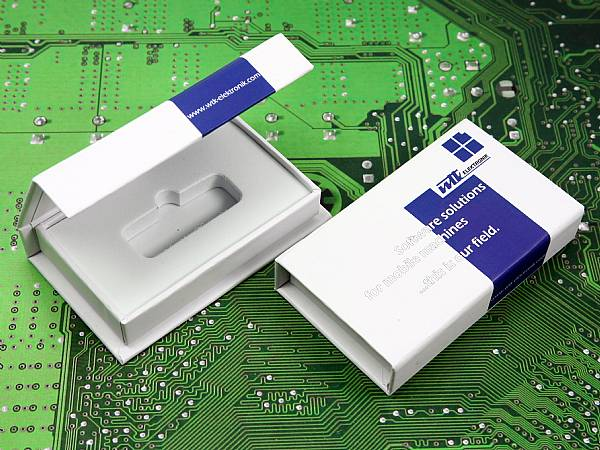 Dongle Box weiss Verpackung WTK