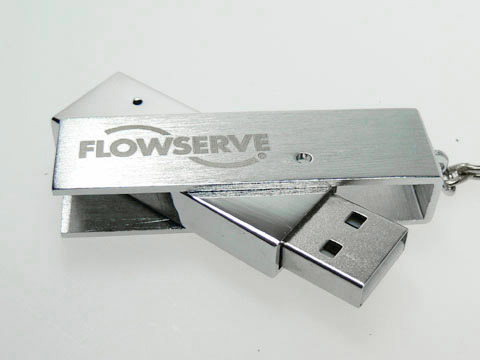 Flowserve Swing Twist USB-Stick, Metall.05