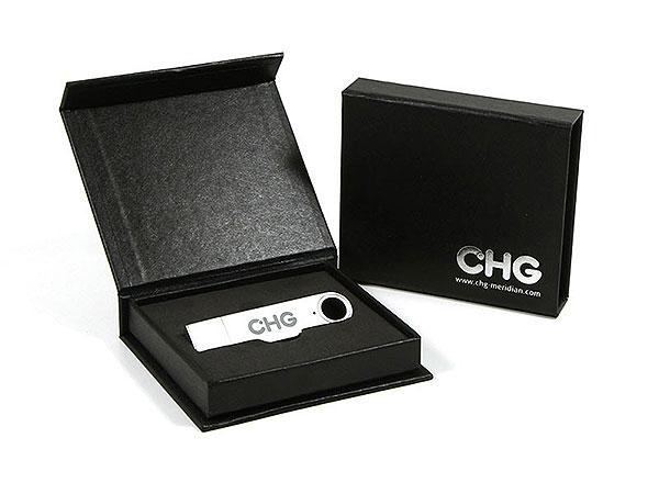 Geschenkbox Geschenkverpackung USB-Sticks, K01 Magnetklappbox