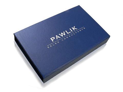 Geschenkverpackung individuell mit Logo, Individuelle Klappbox